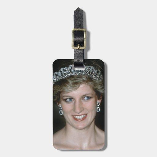 ¡Atontamiento! Princesa Diana de HRH Etiqueta De Equipaje