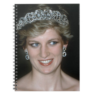 ¡Atontamiento! Princesa Diana de HRH Libros De Apuntes Con Espiral