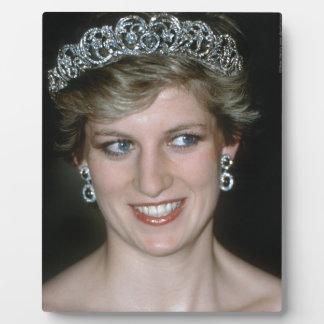 ¡Atontamiento Princesa Diana de HRH Placas De Plastico