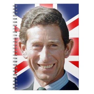 ¡Atontamiento! Príncipe Charles de HRH Libro De Apuntes