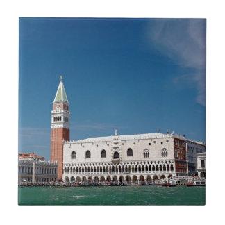 ¡Atontamiento Venecia cuadrada de St Mark Azulejos Ceramicos
