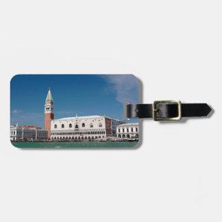 ¡Atontamiento! Venecia cuadrada de St Mark Etiquetas Bolsa