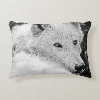 Atontamiento White Wolf Cojín Decorativo