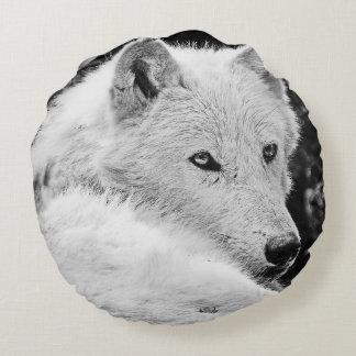 Atontamiento White Wolf Cojín Redondo
