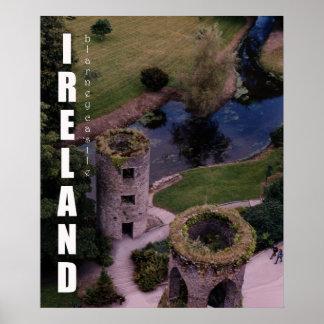 Atop Blarney Castle, Ireland Poster