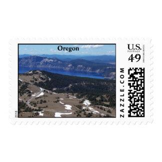 Atop Mount Scott Stamps