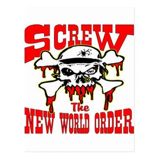 Atornille el nuevo cráneo del orden mundial postal