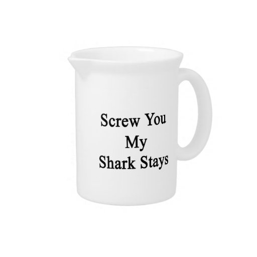 Atorníllele mis estancias del tiburón jarra