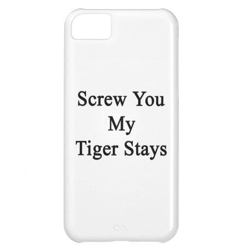 Atorníllele mis estancias del tigre