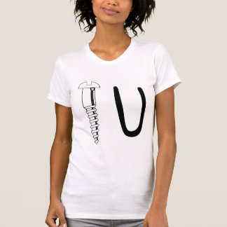 Atorníllele Camiseta