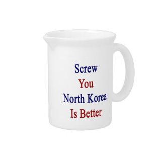 Atorníllele que Corea del Norte es mejor Jarrones