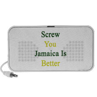 Atorníllele que Jamaica es mejor Sistema Altavoz
