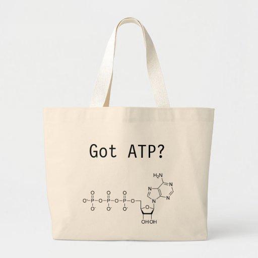 ¿ATP conseguido? Bolsa Tela Grande