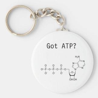 ¿ATP conseguido? Llavero Redondo Tipo Pin