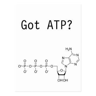 ¿ATP conseguido? Postal