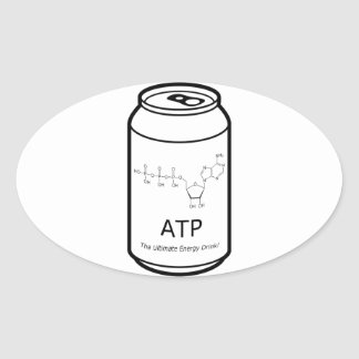 ATP Energy Drink Oval Sticker
