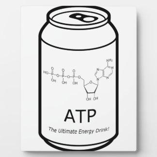 ATP Energy Drink Plaque