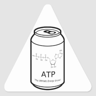 ATP Energy Drink Triangle Sticker