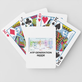 ATP Generation Inside Electron Transport Chain Bicycle Playing Cards
