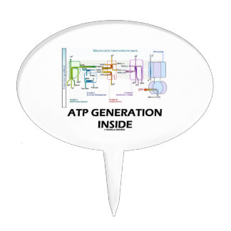 ATP Generation Inside Electron Transport Chain Cake Topper