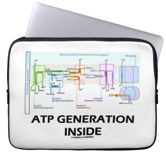 ATP Generation Inside Electron Transport Chain Computer Sleeve
