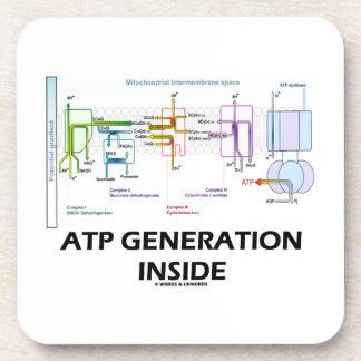 ATP Generation Inside Electron Transport Chain Drink Coaster