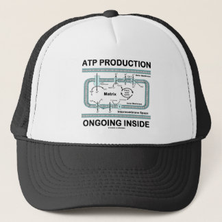ATP Production Ongoing Inside Trucker Hat