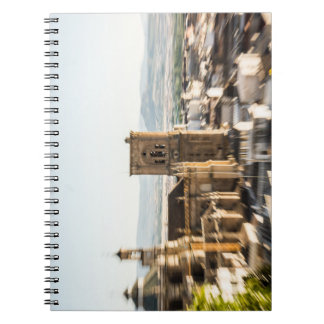 Atracción apasionada spiral notebook