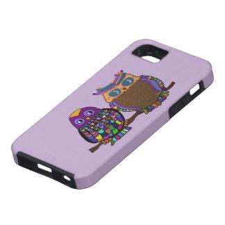 Atracción del búho iPhone 5 carcasa