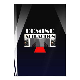 Atracción que viene de la CAMISETA Invitaciones Magnéticas