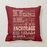 Atracciones y lugares famosos de Anchorage, Alaska Almohadas