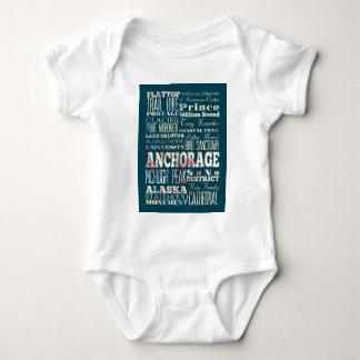 Atracciones y lugares famosos de Anchorage, Alaska Mameluco De Bebé