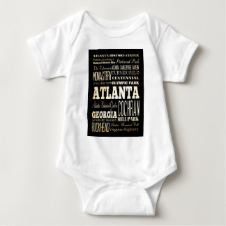 Atracciones y lugares famosos de Atlanta, Georgia Playera