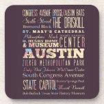 Atracciones y lugares famosos de Austin, Tejas Posavasos