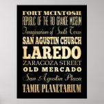 Atracciones y lugares famosos de Laredo, Tejas Impresiones