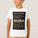 Atracciones y lugares famosos de Madrid, España Poleras