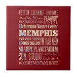 Atracciones y lugares famosos de Memphis, Tennesse Azulejos Cerámicos