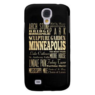 Atracciones y lugares famosos de Minneapolis Funda Para Galaxy S4