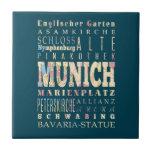 Atracciones y lugares famosos de Munich, Alemania Tejas