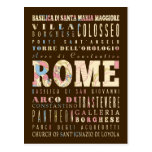 Atracciones y lugares famosos de Roma, Italia Postal