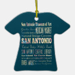 Atracciones y lugares famosos de San Antonio, Teja Ornamentos De Reyes