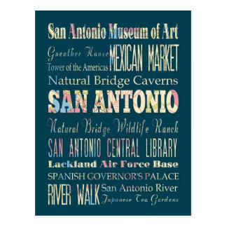 Atracciones y lugares famosos de San Antonio, Teja Tarjetas Postales