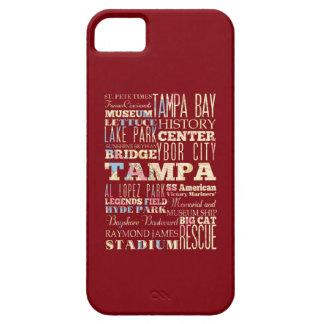 Atracciones y lugares famosos de Tampa, la Florida Funda Para iPhone SE/5/5s