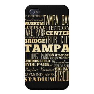 Atracciones y lugares famosos de Tampa, la Florida iPhone 4/4S Fundas