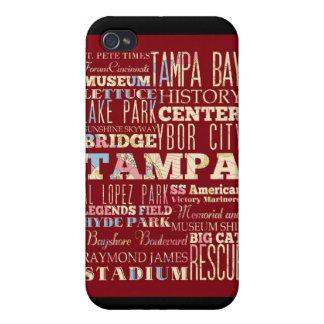 Atracciones y lugares famosos de Tampa, la Florida iPhone 4 Carcasa