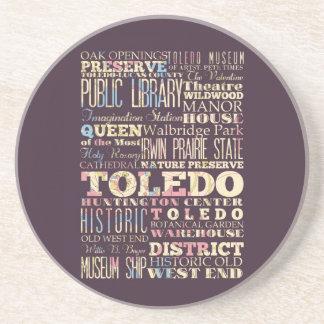Atracciones y lugares famosos de Toledo, Ohio Posavasos Cerveza
