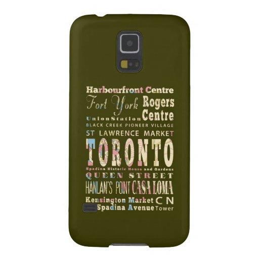 Atracciones y lugares famosos de Toronto, Canadá Fundas Para Galaxy S5