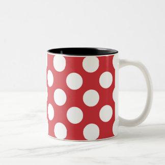 Atractivo maravilloso asombroso brillante taza de dos tonos