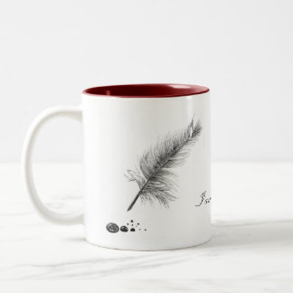 Atramenti Domina Mugware Two-Tone Coffee Mug