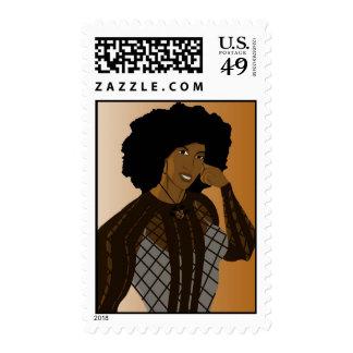 Atramentous Simulacrum Postage Stamp